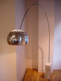 lamp the iconic arco floor lamp white cararra marble with