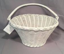 Pottery Barn Baskets With Liners Pottery Barn Easter Basket Ebay