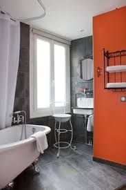 orange bathroom ideas the powder room rainbow bathrooms in every shade of roy g biv