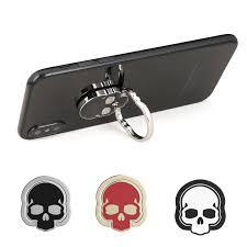 metal skeleton ring holder images Skull shape mobile phone ring holder my phone ring holder online jpg