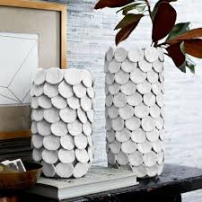West Elm Vases Pure White Ceramic Vase Collection West Elm