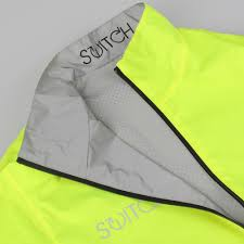 yellow cycling jacket switch men u0027s cycling jacket yellow reflective reversible