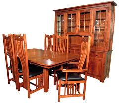 galena dining room set amish furniture gallery custom built