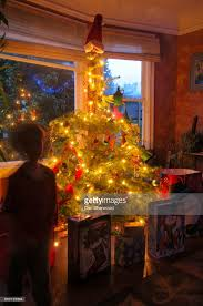 sam on christmas morning portland oregon stock photo getty images