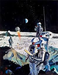 The Most Famous Paintings 27 Paintings From The Most Famous Space Artist On Earth And Off