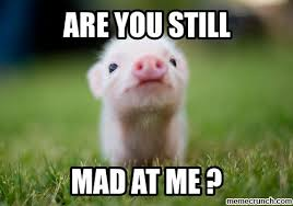 Baby You Still Mad Meme - still mad