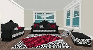 Victorian Sofa Set by Second Life Marketplace Victorian Sofa Set Zebra Blk