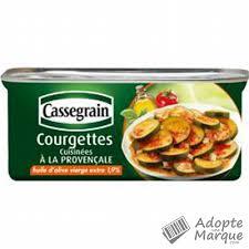 courgettes cuisin s cassegrain courgettes cuisinées à la provençale à l huile d olive