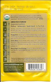 garden primer how to read a seed packet frugal upstate
