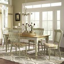 Country French Dining Room Tables Custom Dining Country Estate 5 Piece Table Set By Canadel For