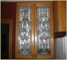 Metal Cabinet Door Inserts Ebay Kitchen Cabinet Beveled Glass Inserts Home Design Ideas