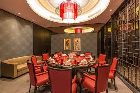 cool double red circular ceiling lights in private dining u2026 flickr