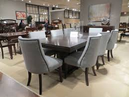 espresso dining table with leaf chicago 2588 92 9pc deep espresso pedestal leaf dining table set