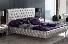 lorena platform bed silver 1 380 00 furniture store shipped