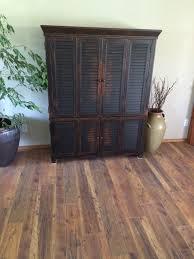 tas model home laminate modern living room seattle by