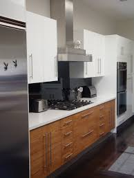 black glass backsplash kitchen black glass backsplash kitchen midcentury with floor linear