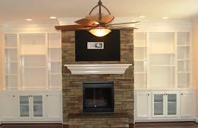 fireplace cabinets bookshelf around fireplace cabinets around