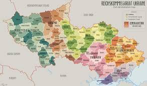 Map Ukraine Map Of Ukraine 1941 44 Philatelic Database