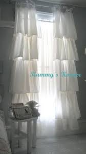 Shabby Chic White Curtains Attractive Shabby Chic White Curtains Designs With 380 Best