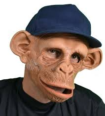 monkey costume halloween chee monkey ape mask moving mouth chimp chimpanzee halloween