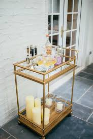 Host An End Of Summer Party Fashionable Hostess by How To Style Your Bar Cart For Summer Cocktails Aol Lifestyle