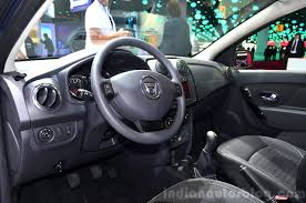 renault sandero interior dacia sandero black touch interior at the 2014 paris motor show