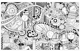 doodle funny city doodling doodle art coloring pages for