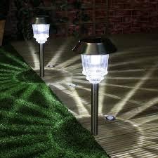 peppermint pathway lights light brackets universal solar