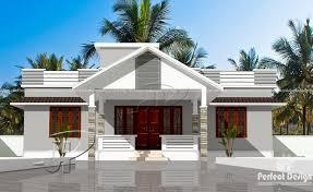Single Floor Home Plans 1184 Sq Ft Modern Single Floor Home U2013 Kerala Home Design