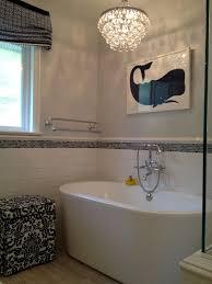 Small Bathroom Chandelier Modern Shower Tile Design Ideas Bathroom Transitional With