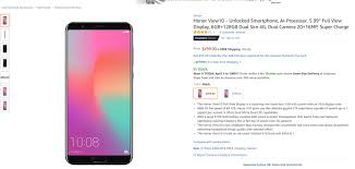 top 10 same day delivery the huawei honor view 10 has finally been listed on