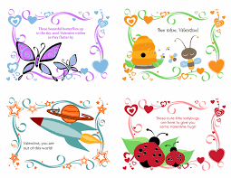 kids valentines cards kids s day cards 24 designs office templates