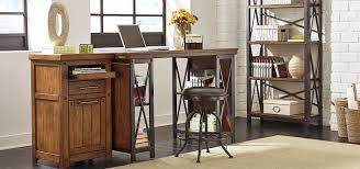 ashley furniture writing desk ashley furniture cross island large office desk in medium brown