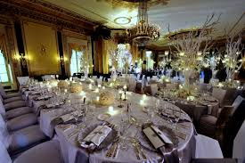 trendy wedding decoration ideas with wedding reception table