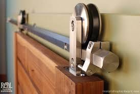 home design exterior sliding barn door track system tv above