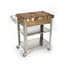Kitchen Island And Carts by Shop Chris U0026 Chris 30 In L X 20 In W X 36 In H Natural Kitchen