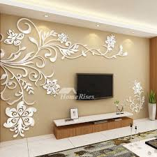 living room mural wall mural stickers 3d acrylic home decor living room