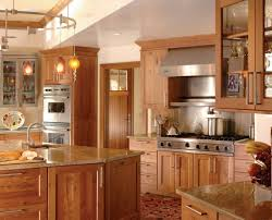 Shaker Kitchens Designs by Rustic Cherry Kitchen Cabinets