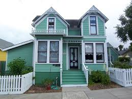 victorian house color schemes exterior green victorian style house