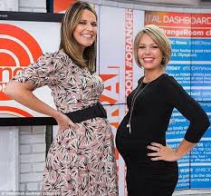 dylan dreyer haircut pictures jenna bush hager and savannah guthrie flank today s dylan dreyer