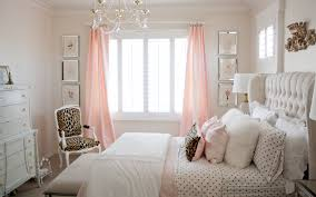 pink and gold u0027s bedroom makeover randi garrett design