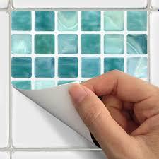 wall tile decals vinyl sticker waterproof tile or wallpaper