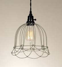 wire bell pendant l in barn roof finish ceiling pendant
