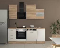 K Henzeile Im Angebot Küchenzeile Rom Küche Mit E Geräten 13 Teilig Breite 220 Cm