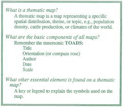 What Is A Map Thematic Maps Of Your