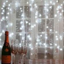 organza curtain lights 4x8 cool white led lights event decor