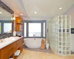 glass block designs for bathrooms glass block shower houzz