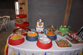 paw patrol candy table ideas birthday party archives if i ran the party