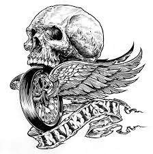 affliction clothing on 10 sick skull designs from the