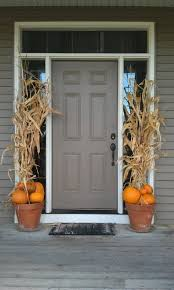 fall front porch decorating ideas front door thanksgiving